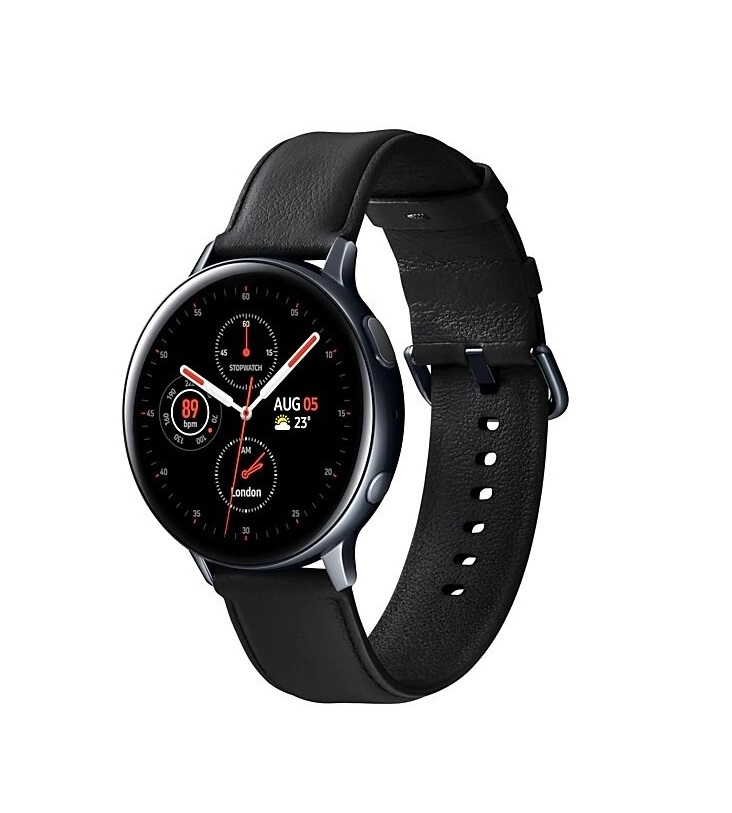 Умные часы Samsung Galaxy Watch Active2 сталь 44мм, черный