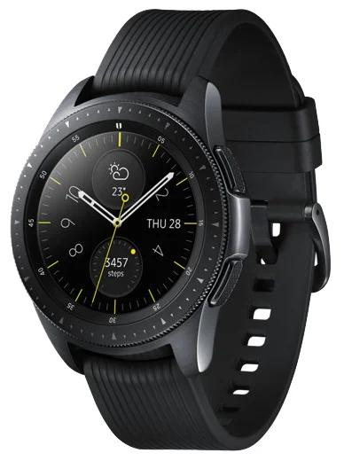 Умные часы Samsung Galaxy Watch 42мм, midnight black/onyx black