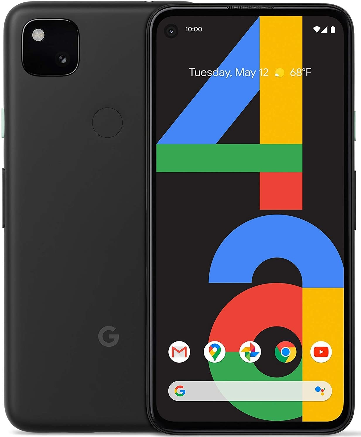 Смартфон Google Pixel 4a 6/128GB Just Black (Чёрный)