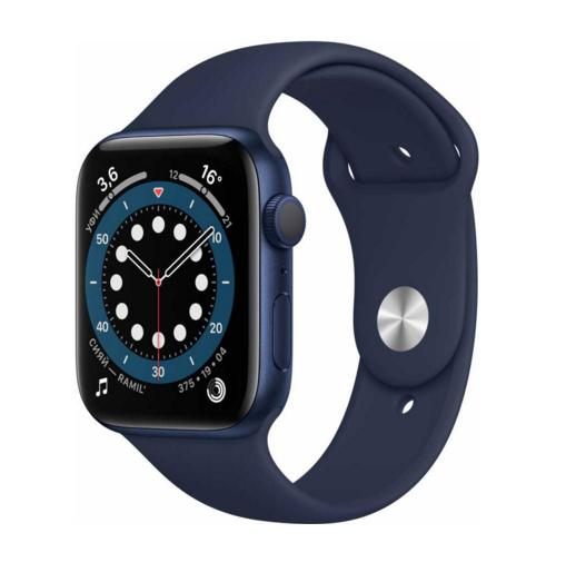 Apple Watch Series 6 GPS 40mm Aluminum Case with Sport Band Синий
