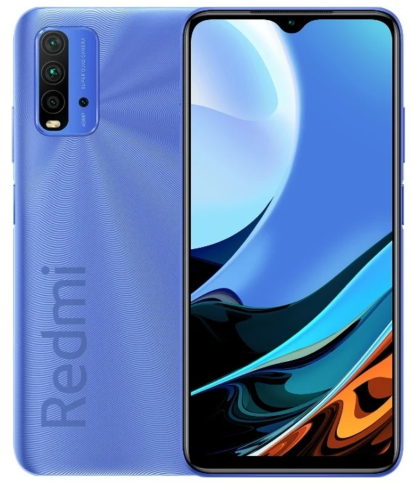 Xiaomi Redmi 9T 4/128GB Синий (глобальная версия)